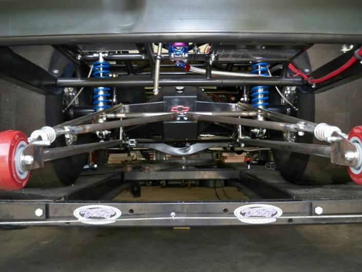 Custom Chassis for Kevin Wilson's 1963 Impala