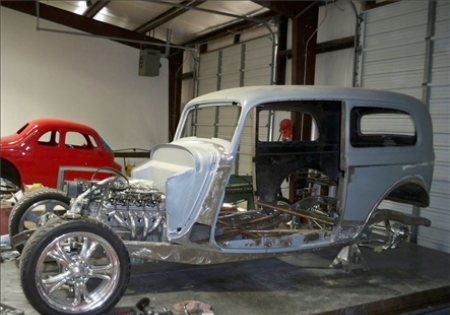 Lee Muncy's '33 Ford Sedan WIP 3